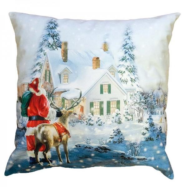 Vankúšová obliečka Vianočná krajina