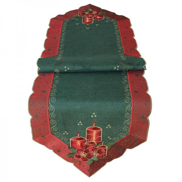 Obrus Vianočná klasika 40x140 cm