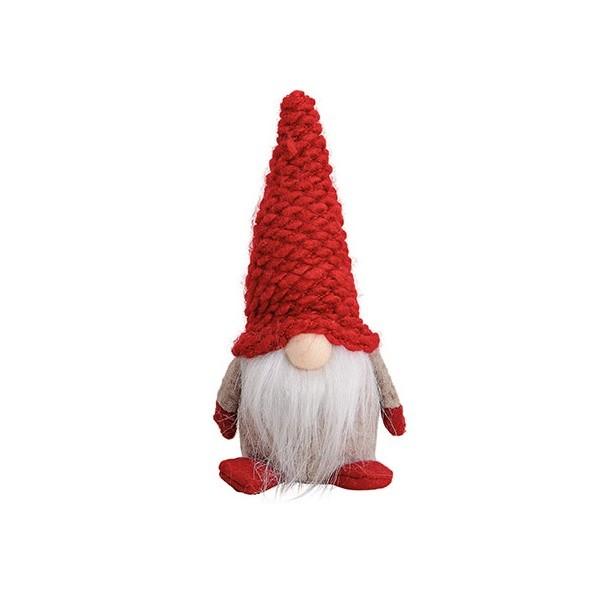 Vianočný škriatok Cukráčik s červenou čiapkou 18 cm
