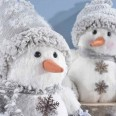 Dekorační snehuliaci