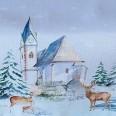 Zimný a vianočný textil