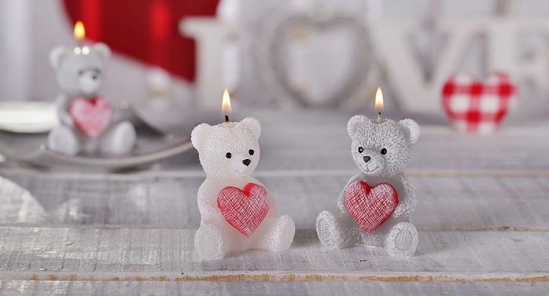 Valentínske sviečky