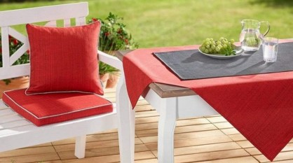 Outdoorové vybavenie stola